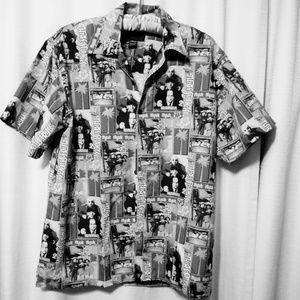 Three Stooges NYUK NYUK NYUK Shirt XXL Marlin